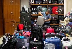 Unutkan yolcular havalimanında 4 bin 525 eşya bıraktı