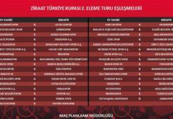 Ziraat Türkiye Kupasında 2. tur eşleşmeleri belli oldu