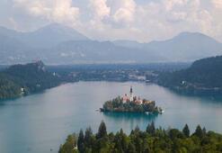 Slovenyanın gözde rotası Bled Gölü