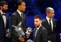 Yılın en iyi oyuncu adayları: Messi, Ronaldo, Van Dijk