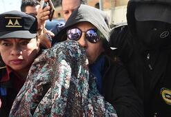 Guatemalada eski first lady gözaltına alındı
