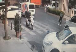 Bağcılarda minibüs genç kıza böyle çarptı