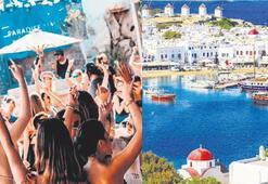Mikonostaki çete Türk güzeli ağına düşürdü