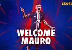 PSG Mauro Icardiyi böyle duyurdu