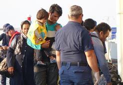 Çanakkalede 97 düzensiz göçmen yakalandı