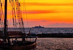 NATOdan 40 gemiyle Baltık Denizinde gövde gösterisi