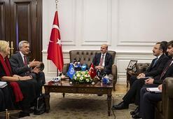Bakan Soylu, BM Mülteciler Yüksek Komiseri Grandiyi kabul etti