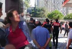 Komşular birbirine girdi, genç kız bıçakla yaralandı