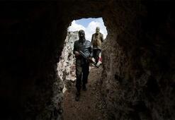 Tünelde gizlenen dokuz terörist öldürüldü