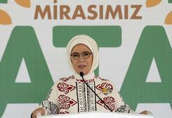 Emine Erdoğan: Kısa zamanda Türkiyede yerli üretimden başka bir şey görmeyeceğiz
