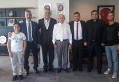 TFF Başkanı Nihat Özdemir, Zonguldak Ereğlisporu ağırladı