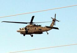 Akçakale'de helikopter hareketliliği
