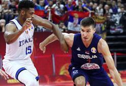 Bogdanovic coştu, Sırbistan farka koştu: 92-77