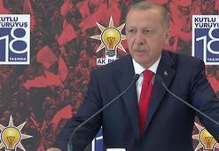 Cumhurbaşkanı Erdoğan: Bunların hepsi birer projedir
