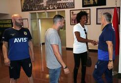 Adil Rami ve Luiz Gustavo Samandırada buluştu