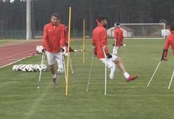 Ampute Milli Futbol Takımı kampı