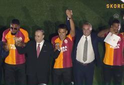 Galatasarayda görkemli imza töreni