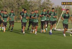 Konyasporda Denizlispor mesaisi başladı