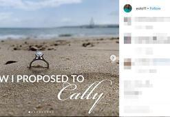 Evlilik teklifinin böylesi
