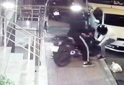 Motosikleti önce test etti, sonra çalıp gitti