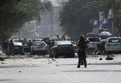 Kabilde büyükelçiliklerin bulunduğu bölgede patlama meydana geldi