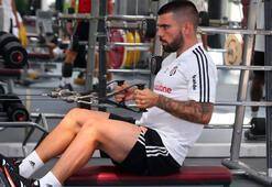 Beşiktaş salonda çalıştı