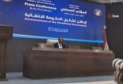 Sudanda geçici hükümet kuruldu