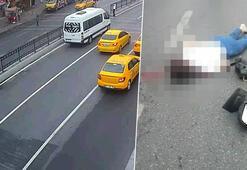 İstanbulun göbeğinde genç kız dehşeti yaşadı