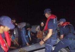 Didim açıklarında 25 kaçak göçmen yakalandı