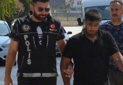 Polis baskınında uyuşturucuyu eşinin sutyenine gizledi