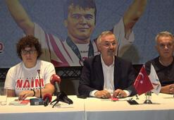 Naim Süleymanoğlunun film ve kitap tanıtım toplantısı yapıldı