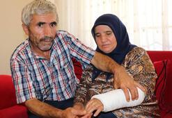 Yaşlı kadını otomobille ezip damadını dövdüler...