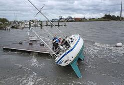 Dorian Kasırgası Kuzey Carolinayı vurdu