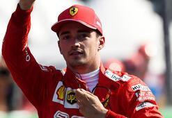 İtalyada Leclerc pole pozisyonu kaptı