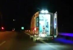 Şoförüm dedi, ambulansı kaçırdı