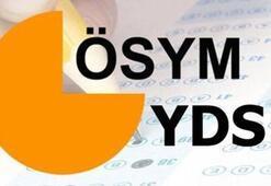 YDS sonuçları ne zaman açıklanacak YDS/2 sınav sonuç tarihi