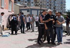 Diyarbakırda HDP önündeki oturma eyleminde gerginlik