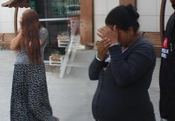 Hamile hırsızlar yakalandı