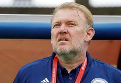 Bosna Hersekin teknik direktörü Prosinecki istifa etti
