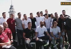 A Milli Futbol Takımı tekne turu yaptı