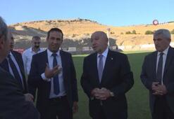 TFF Başkanı Özdemirden Yeni Malatyasporda ziyaret