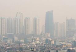 Endonezyada hava kirliliği kritik seviyeye ulaştı