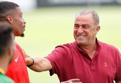 Galatasaray önce salonda sonra sahada çalıştı
