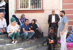 HDP önündeki eylemde 7nci gün Destek için gittiler...
