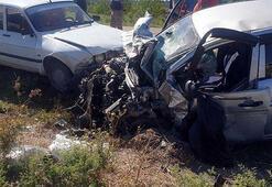 Osmaniyede trafik kazası Ölü ve yaralılar var