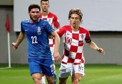 Gecenin sürprizi Azerbaycandan Hırvatistan ile...
