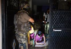 500 polis ile uyuşturucu operasyonu