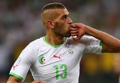 Slimani yine boş geçmedi, Cezayir kazandı