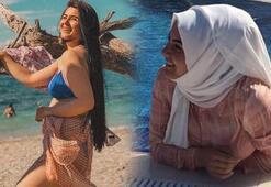 Müzmin gelin adayı Hanife'den bikinili mesaj: Bakın bakalım görebilecek misiniz