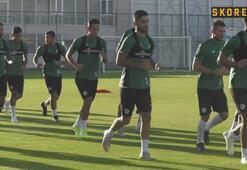 Konyasporda Yukatel Denizlispor maçı hazırlıkları